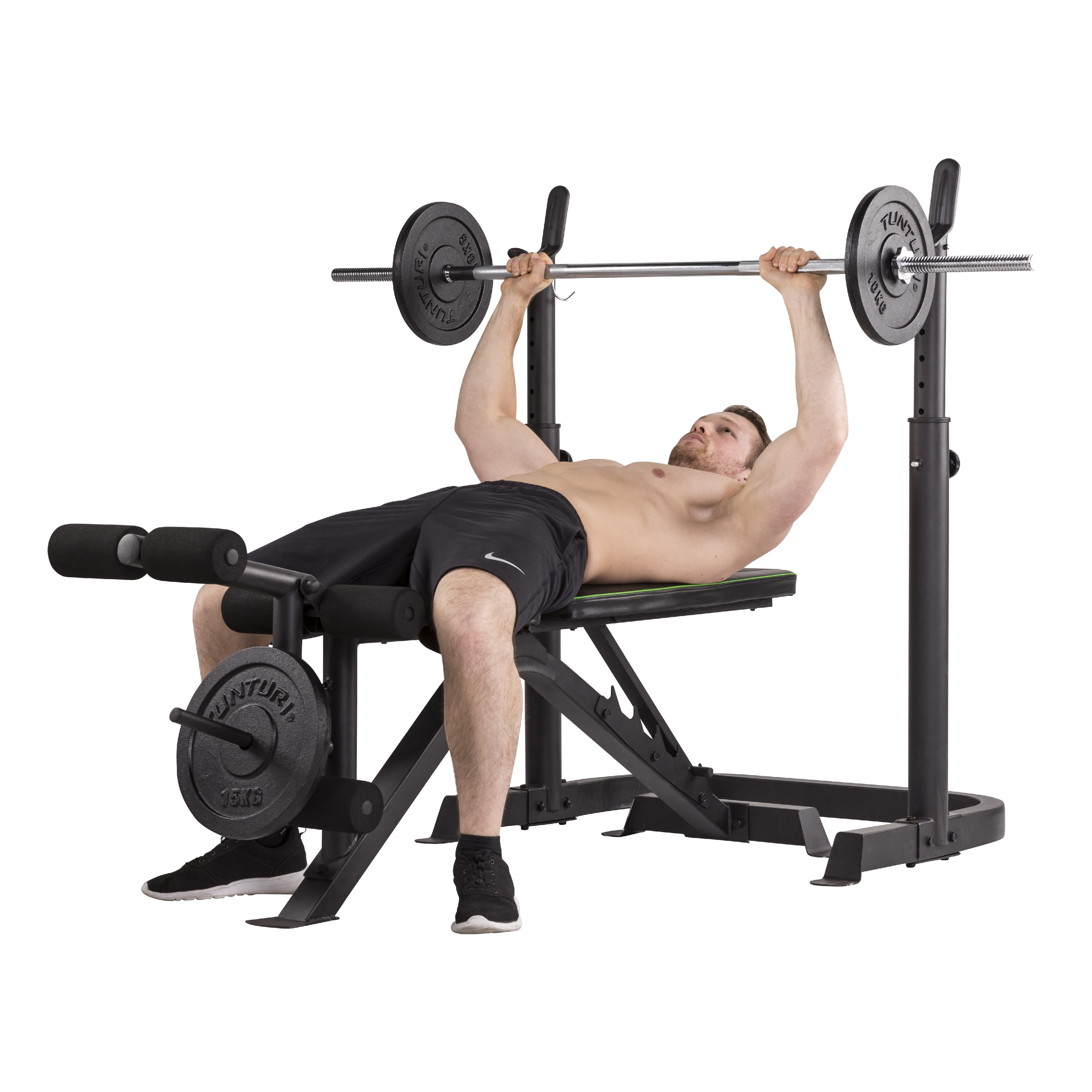 bar press barbell weight lifting equipment bench power product york