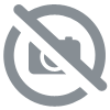 LONG FOCUS MITT LEATHER / BLACK-RED
